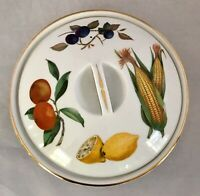 """Vintage Royal Worcester porcelain fireproof Covered Casserole/Serving Dish-8.5"""""""