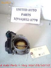 02-06 MAXIMA 350Z ALTIMA G35 I35 M35 MURANO QUEST THROTTLE BODY SERA576
