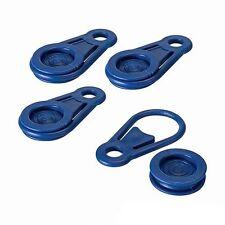 4 PEZZI Telone Clip Pack Plastica Occhielli Tenda Teloni Campeggio Mercato P49