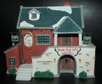 Park Square Bistro Porcelain Lighted Building NIB Lemax 1997