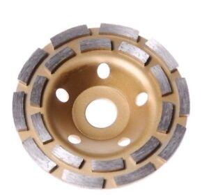 5'' 125mm Diamond Segment Grinding Wheel Disc Cup Marble Concrete Granite Stone