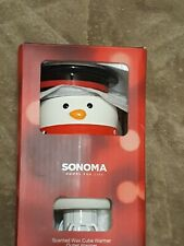 Sonoma Snowman Outlet Scented Wax Cube Warmer Outlet Warmer