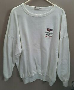 "PINK FLOYD 1988 CREW SWEATSHIRT ""I SURVIVED 100 SHOWS"" MOMENTARY LAPSE TOUR"