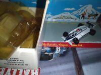 QUARTZO 1/43 BRAHAM BT 49C NELSON PIQUET CHAMPION DU MONDE 1981 NEUF EN BOITE