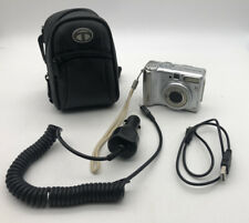 Canon PowerShot A530 5.0MP Digital Camera - Silver W Case And 2 Chargers Car