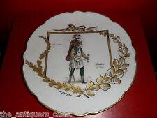 Limoges France collector plate Marchand de Coco, Paris 1600,[#150]