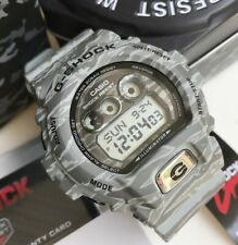 Casio G-Shock * GDX6900TC-8 Oversized Tiger Camouflage Grey Watch COD PayPal