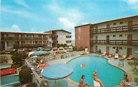 Alladin Color Gay Vacationer Motel Pool 1970s Virginia Beach Virginia 10333