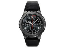Samsung Galaxy Gear S3 frontier 46mm Stainless Steel Case black Sport Band …