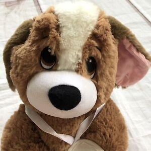 "First & Main Melancholy Mel Dog Plush 14"" Get Well Stuffed Animal Toy"