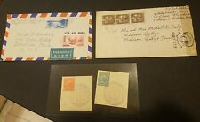 Japan Stamps and Envelopes (x4)