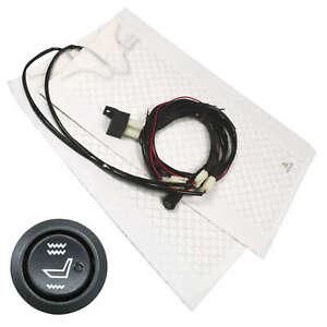 Heated Seats Car Carbon Universal Retrofit Kit Heating Mat 2 Levels Car Truck Ad