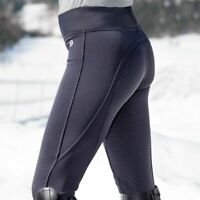 Horze Active Women's Silicone Full Seat Riding Tights with Fleece Lining