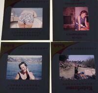 4 Vintage 1960's Kodak Photo Slides Ladies