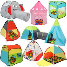 Kinderzelt Bällebad Babyzelt Spielhaus Krabbeltunnel Spielzelt PupUp Tunnel Zelt