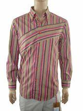 khiurli camicia uomo righe taglia 42 collo 16,5 size l large