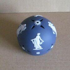 Wedgwood Jasperware Portland Blue Dancing Hours Pomander