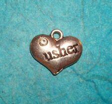 Pendant Wedding Charm Usher Charm Wedding Party Charm Wedding Gift WeddingParty