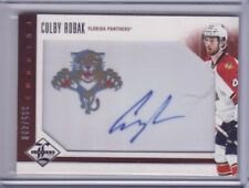 2012-13 Limited #212 Colby Robak  365/499 Auto RC Autograph - Flat S/H