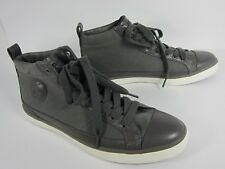 Polo Ralph Lauren CLARKE Men's Lace-Up Black Canvas Hi-Top Sneakers Shoes Sz 9 D