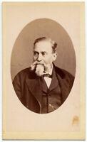 CDV Catania e Acireale Foto in ovale Albumina originale Pellicciari 1870c S1559