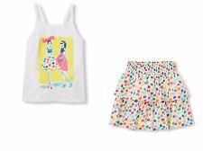 Children's Place Embellished Top & Polka Dot Printed Skirt Size S 5-6