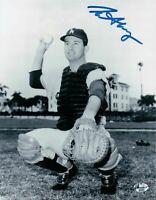 Norm Sherry Signed 8X10 Photo Autograph Los Angeles Dodgers Thick Auto COA