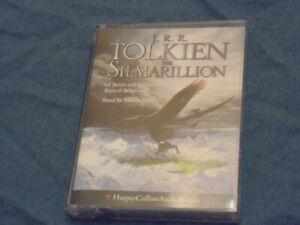 J. R. R, Tolkien The Silmarillion partial audiobook on cassette