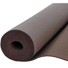 Filz Taschenfilz 0,5lfm Meterware 4mm stark, 1m breit imprägniert Braun