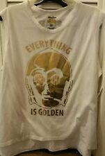 New Disney Parks Star Wars C3PO Everything is Golden Size XXL Sleeveless Shirt
