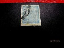 Nepal #13 1a thin native paper, used, vf cat. 60.-