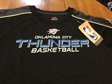 Oklahoma City thunder basketball majestic dry fit small shirt - youth