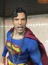 1/6 SCALE- CUSTOM LIMITED- EVIL SUPERMAN SCULPT......LOOK