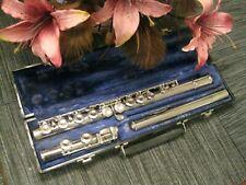 Selmer Bundy Standard Closed Hole Student Flute (#612) School Band! MSRP $915!