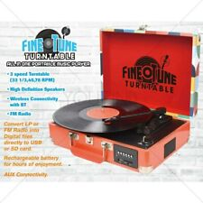 4a53fd33d13fd BEST QUALITY TURNTABLE Vintage Convert LP 3 Speed Record Player FM Radio
