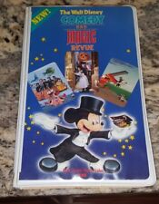 DISNEY VHS VIDEO COMEDY AND MAGIC REVIEW rare 1985