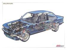 BMW E30 Stromlaufplan Schaltplan SWRA Scheinwerferreinigungsanlage