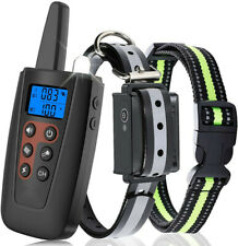 Dog Training Collar with Remote Rechargeable Shock Collar for Dogs with Beep