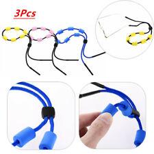 3Pcs Eyewear Retainer Holder Eyeglass Safety Strap Rope Sports Sunglass Lanyard