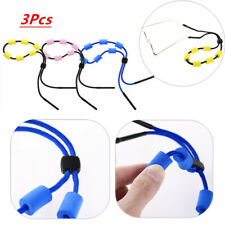 3x_ Eyewear Retainer Holder Eyeglass Safety Strap Rope Sports Sunglass Lanyard