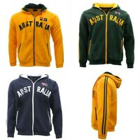 Adult Zip-up Hoodie Jacket Jumper Australian Australia Day Souvenir
