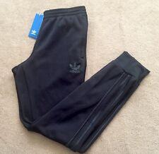 NUOVA linea uomo Adidas SST SUPERSTAR TRACK Bottoms Pants Casual Palestra LTD EDITION BLACK