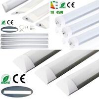 2/3/4/8ft 18W 27W 36W 45W LED Batten Tube Light Surface Mount Ceiling Single Pin