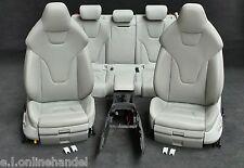 Audi RS4 (A4 S4) 8K Leather INTERIOR SEATS GREY sportsitze Recaro