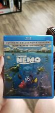 Finding nemo+ finding dory blu ray + original case. No 3D disc or anything else.