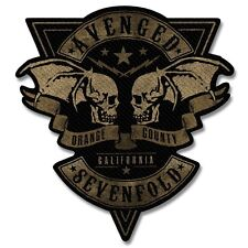AVENGED SEVENFOLD - Patch Aufnäher - Orange County 10x6cm
