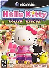 Hello Kitty: Roller Rescue (Nintendo GameCube, 2005) Like New Missing Manual