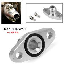 8AN Alumimum Turbo Oil Drain Flange GT1544 GT2052 GT2056 GT1749 GT2252  M6 Bolt