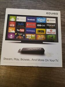 Equiso Streaming Smart Stick With Remote In Box android streaming web browser