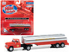Classic Metal Works CMW31197 1957 Chevrolet Truck Tractor with Tanker Trailer Or